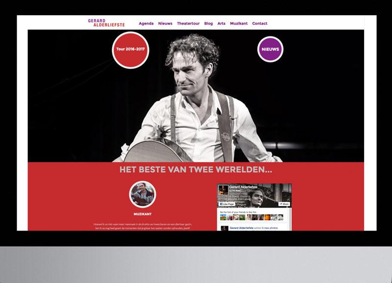 Site Gerard Alderliefste met Cor Bakker: theaterseizoen 2017/2018